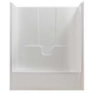"Tub/Shower Combo Insert - 60"" One-Piece Left-Hand"