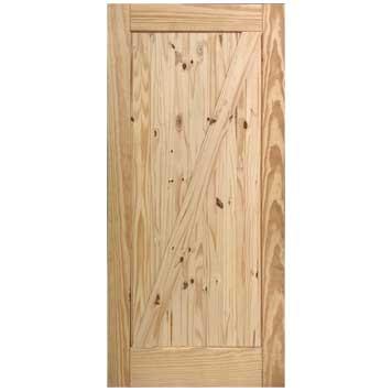 """36"""" Unfinished Barn Door"""