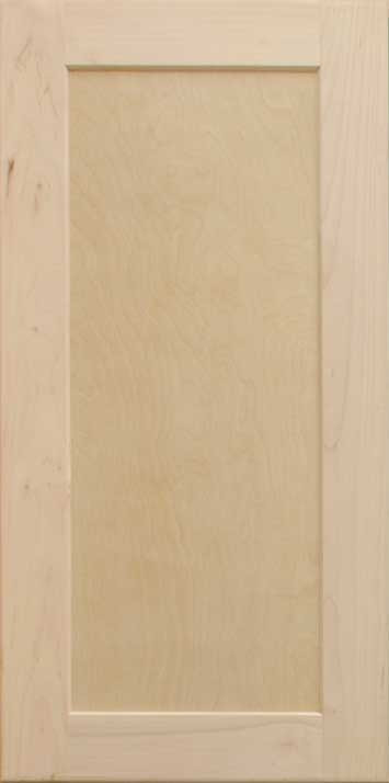 Unfinished Maple Wall Kitchen Cabinet Sample