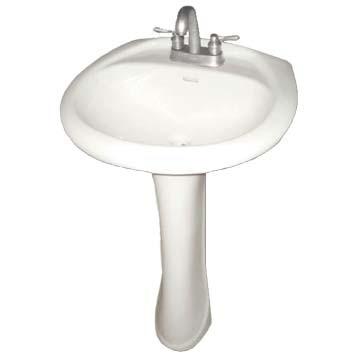 Vitreous China Pedestal Sink - Iris Base - 28010