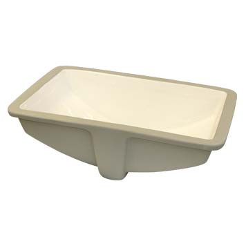 Vitreous China Sink Bowl - Olympia Undermount in Biscuit - 36002