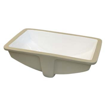 Vitreous China Sink Bowl - Olympia Undermount in White - 36000