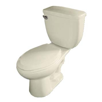Vitreous China Toilet - Apollo Elongated in Biscuit - 42002