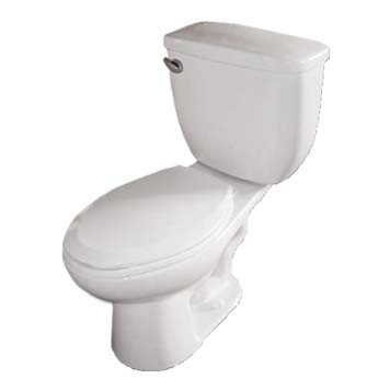 Vitreous China Toilet - Apollo Elongated in White - 42000