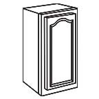 Wall Cabinet 18 Inch AOW1830 - Appalachian Oak