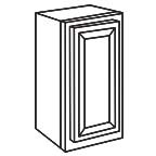 Wall Cabinet 21 by 30 Inch - Savannah Sienna Glaze SSGW2130
