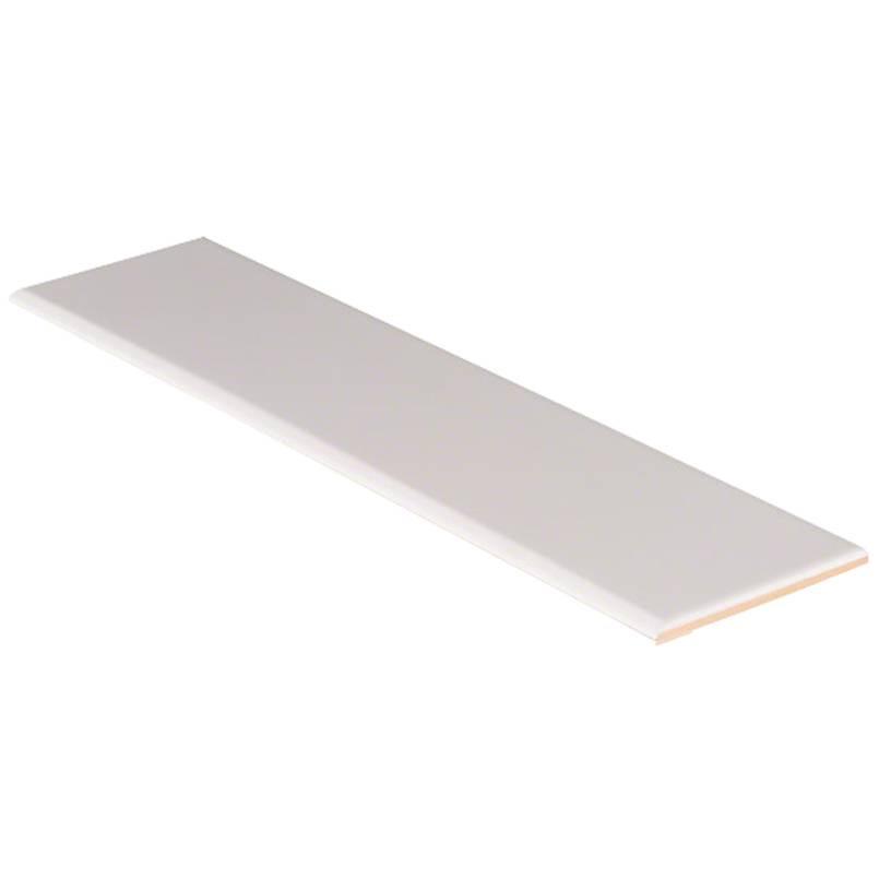White Glossy 4x16 Bullnose Tile