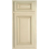 Antique White Cabinet Sample