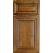 Charleston Coffee Glaze Cabinet Sample
