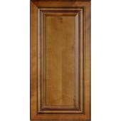Charleston Coffee Glaze Wall Cabinet Sample