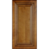 Charleston Coffee Glaze Wall Cabinet Sample