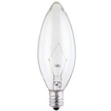 25 Watt B9 1/2 Torpedo Incandescent Light Bulb