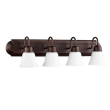 4 Light Oiled Bronze Vanity Light 5094-4-86