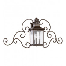Magnolia 3 Light Outdoor Wall Lantern 7044-3-86