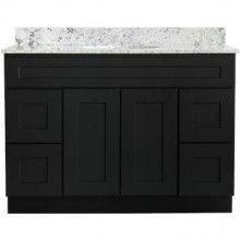 Bathroom Vanity - Shaker Black