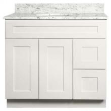 Bathroom Vanity - Shaker White