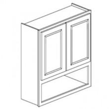 Overjohn Cabinet - Shaker Gray
