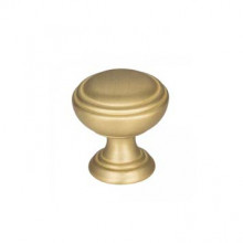 Cabinet Knobs in Brushed Gold Finish