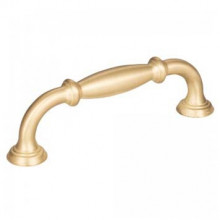 Cabinet Pulls in Brushed Gold Finish