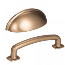 Cabinet Pulls in Satin Bronze Finish