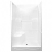 "Shower Insert - 48"" Two-Piece Shower Right-Hand"