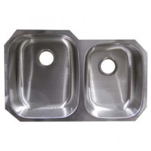 Stainless Steel Undermount Sink - Double Bowl UM322097