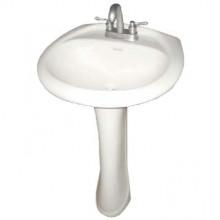Iris Series Pedestal Sink