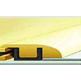 """155-9 Rustic Oak Rigid Vinyl Plank Reducer 7'-8""""L x 1.38""""W x .47""""T"""