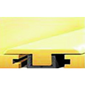 """8128-2 River Stone T-Mold 7'-8""""L x 1.77""""W x .39""""T"""