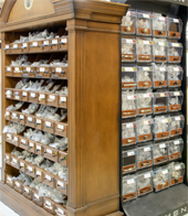 In-Store Cabinet Hardware Display