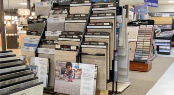 In-Store Carpet Display