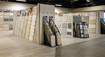 In-Store Tile Boutique