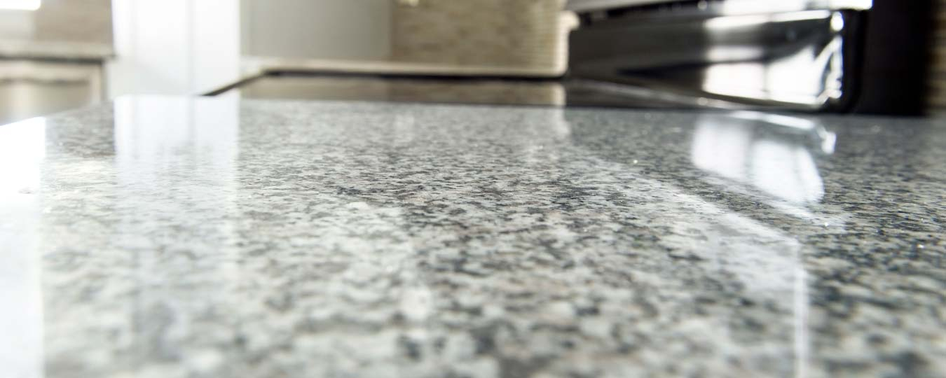 Close-up of Granite Kitchen Countertop