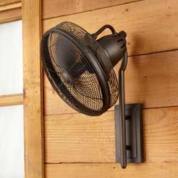 Veranda Outdoor Wall Mount Fan