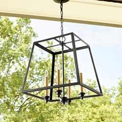 676-4 Outdoor Pendant Light