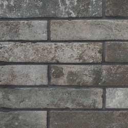 Brickstone Charcoal Porcelain Tile