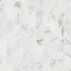 Calacatta Blanco Natural Marble Pattern Tile