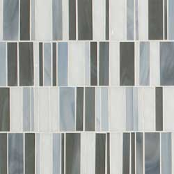 Citi Stax Lapis Glass Mosaic Tile