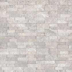 Silver Canyon Stacked Stone Tile