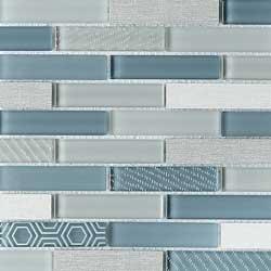 Volare Nuvole Glass & Porcelain Mosaic Tile