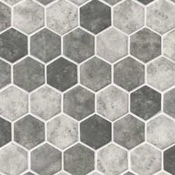 Urban Tapestry 6mm Hexagon Mosaic Tile