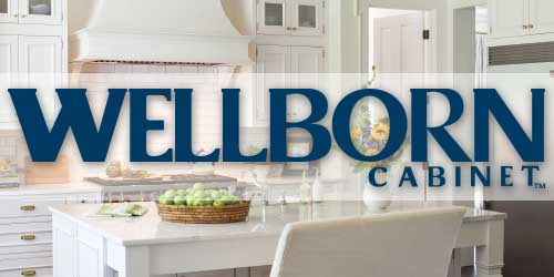 Wellborn Cabinets Logo and Sample Image